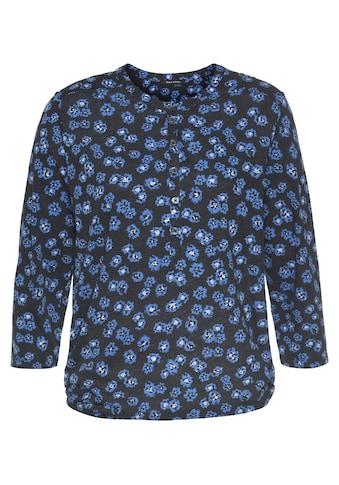 Marc O'Polo 3/4-Arm-Shirt, mit komfortablem Gummizug am Saum kaufen