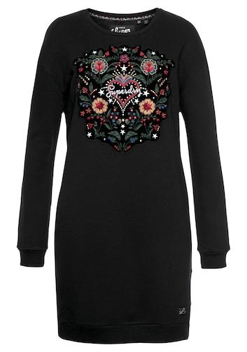 Superdry Sweatkleid »EMBELLISHED RODEO SWEAT DRESS