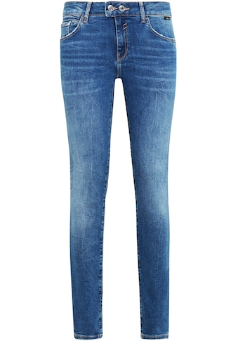 Mavi Skinny-fit-Jeans »ADRIANA-MA«, mit doppelten Knopfverschluss kaufen