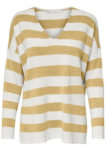 Only V - Ausschnitt - Pullover »ONLAMALIA« kaufen