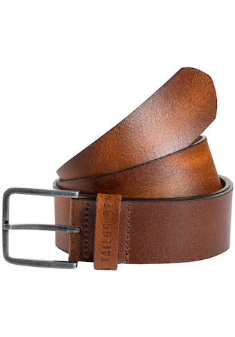 TOM TAILOR Denim Ledergürtel, Schließe Vintage satiniert kaufen