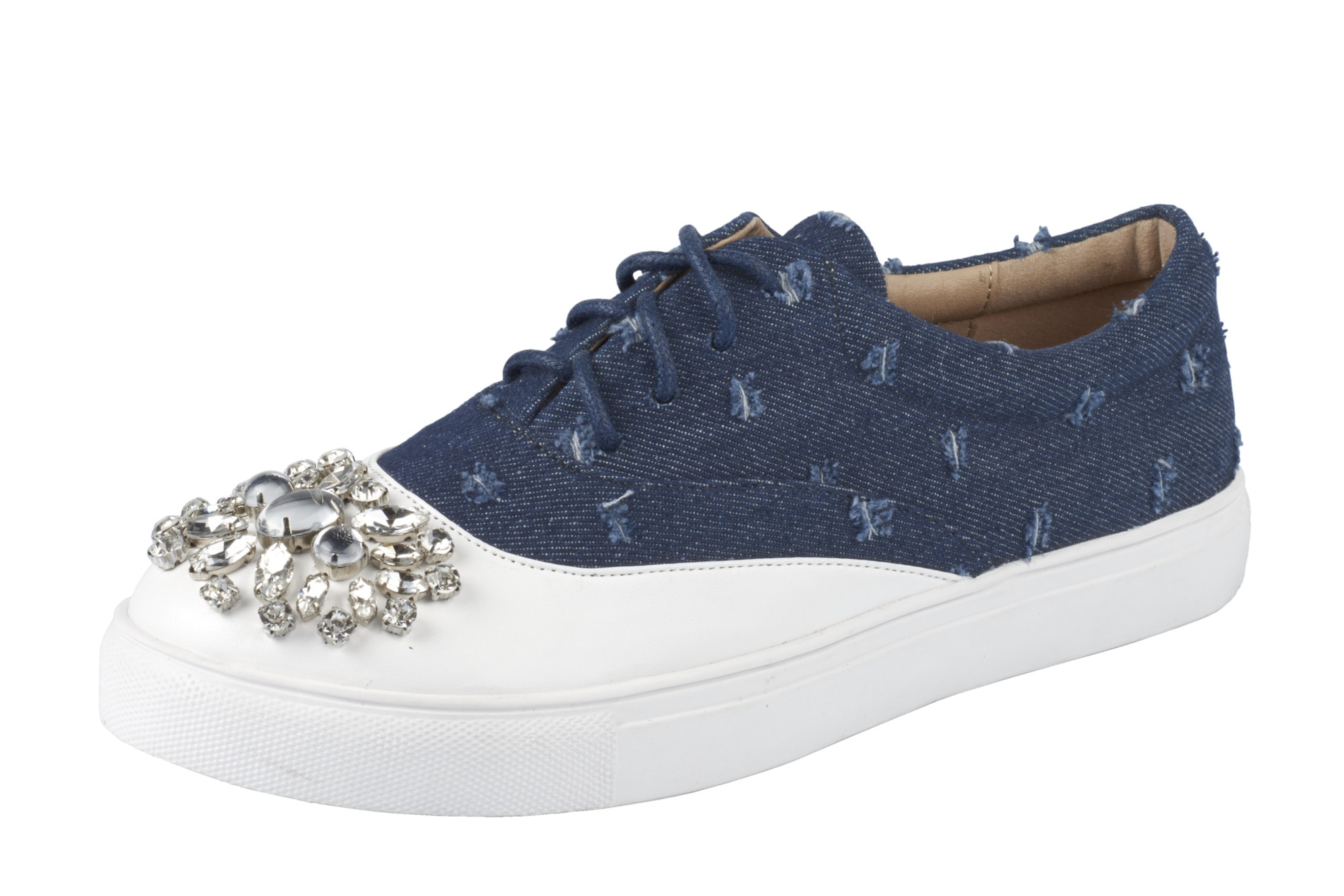 Heine Sneaker mit Schmucksteinen Schmucksteinen Schmucksteinen online kaufen | Gutes Preis-Leistungs-Verhältnis, es lohnt sich 66614f