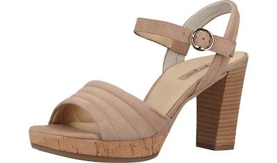 Paul Green High-Heel-Sandalette »Nubukleder« kaufen