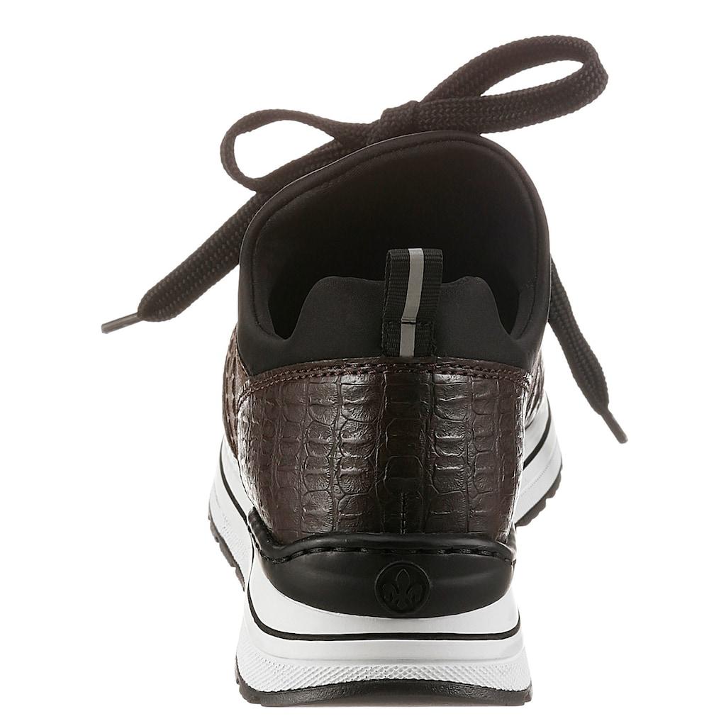 Rieker Slip-On Sneaker, mit Glitzer