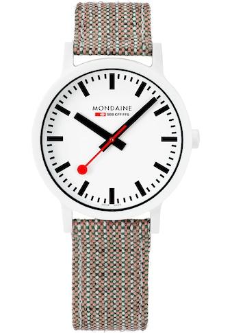 MONDAINE Schweizer Uhr »essence, MS1.41110.LG« kaufen