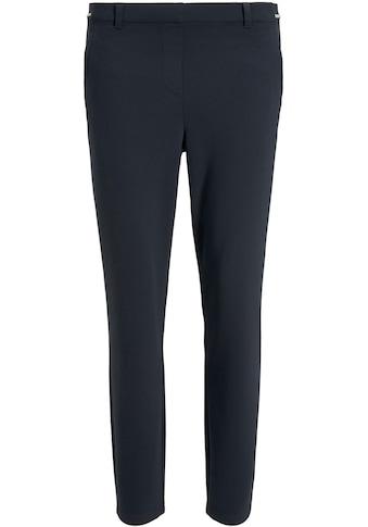 TOM TAILOR Stretch-Hose, mit elastischem Gummizug-Bund mit Kontrast-Streifen kaufen