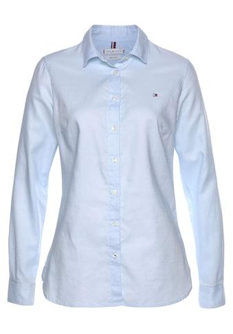 TOMMY HILFIGER Hemdbluse »HERITAGE REGULAR FIT SHIRT«, in hochwertiger Oxford Qualität mit Tommy Hilfiger Logo-Flag kaufen