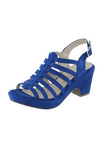 Sandalette mit schmalen Riemchen kaufen