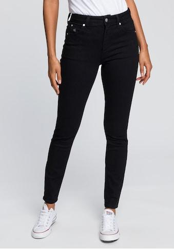 Calvin Klein Jeans Skinny-fit-Jeans »CKJ 010 HIGH RISE SKINNY«, mit CK Monogramm Stickerei kaufen