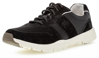 Pius Gabor Sneaker, mit Kontrast-Details kaufen