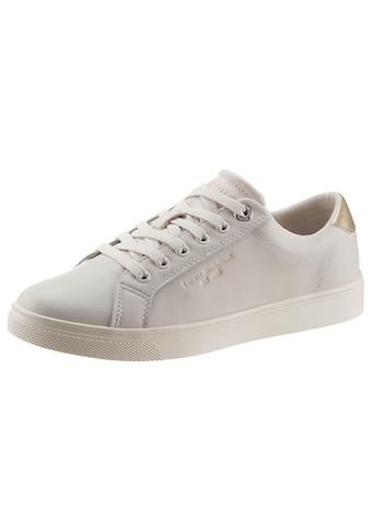 Tommy Hilfiger Sneaker »TH ICON CUPSOLE SNEAKER«, mit schimmernden Kontrastbesatz kaufen