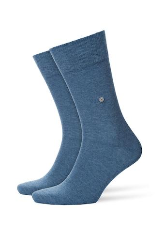 Burlington Socken »Everyday 2-Pack«, (2 Paar), aus weicher gekämmter Baumwolle kaufen