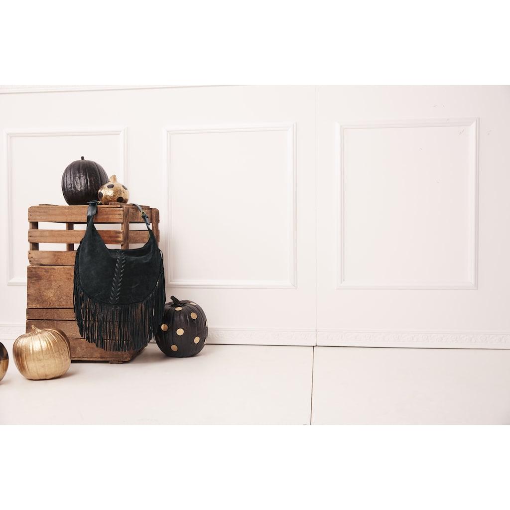 Strickjacke mit Rundhalsausschnitt