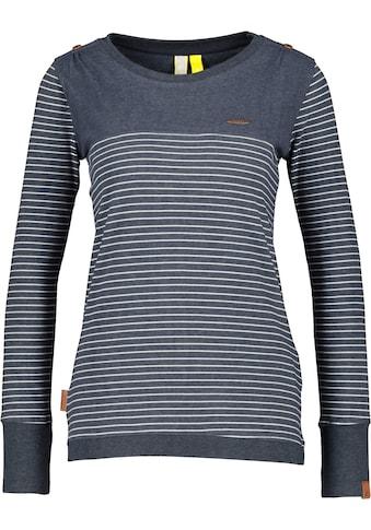 Alife & Kickin T-Shirt »LeonieAK«, sportives Longsleeve mit zarten Streifen kaufen