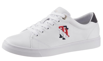 Tommy Hilfiger Sneaker »TOMMY MONOGRAM CASUAL SNEAKER«, mit farbiger TH-Stickerei kaufen
