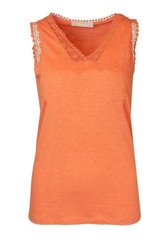 bianca Spitzentop »JOSY«, in der sommerlichen Trendfarbe kaufen