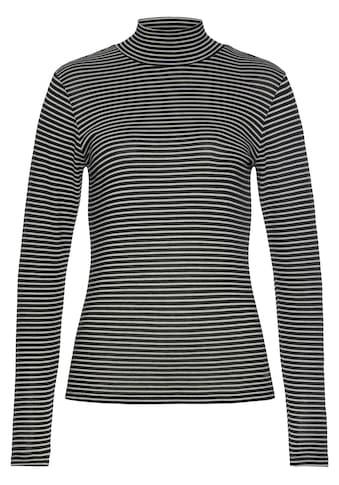 Herrlicher Longsleeve »TINKER«, Rollkragenshirt aus weichem Jersey kaufen