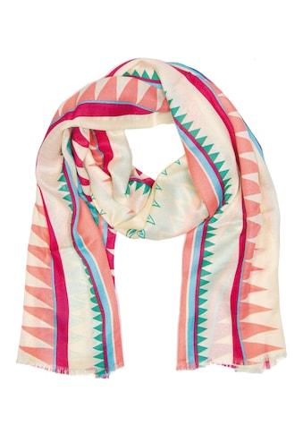 CASSANDRA Schal mit tollem Zacken - Design »Zackig« kaufen
