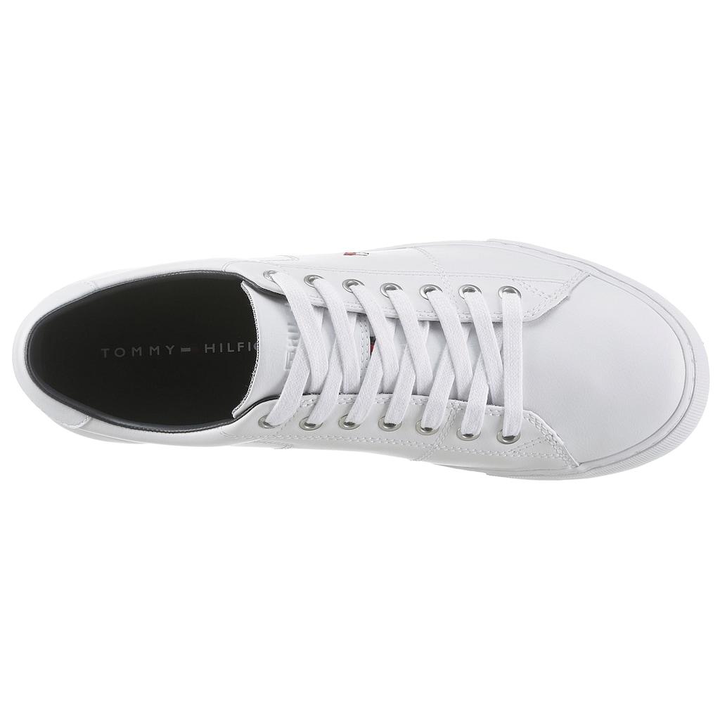 TOMMY HILFIGER Sneaker »ESSENTIAL LEATHER SNEAKER«