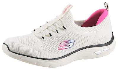 Skechers Slip-On Sneaker »EMPIRE D´LUX«, mit gepolstertem Fersenpart kaufen