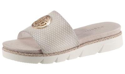 bugatti Pantolette »KIKO«, mit glänzendem Schmuckelement kaufen