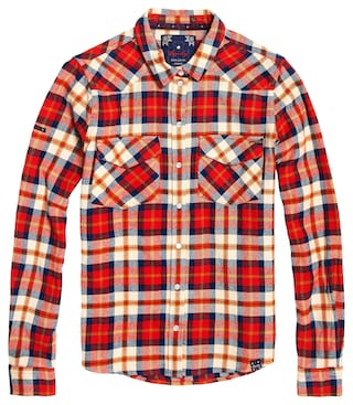 Superdry Hemdbluse »BAILEY WESTERN CHECK SHIRT« kaufen | I'm walking