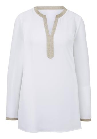 Bluse leicht transparent kaufen