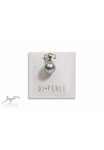 DI PERLE Perlenanhänger »925 Silber Tahiti Perlen Anhänger«, Damen Perlenschmuck kaufen