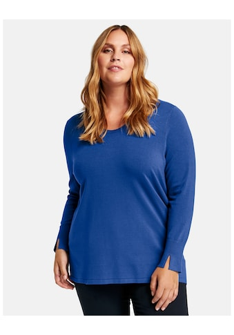 Samoon Rundhalspullover »Basic Pullover« kaufen