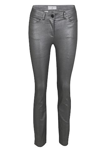 RICK CARDONA by Heine 5-Pocket-Hose, mit silberfarbenem Schimmer kaufen