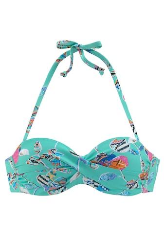 Sunseeker Bügel-Bandeau-Bikini-Top »Jam«, mit Wickeloptik kaufen