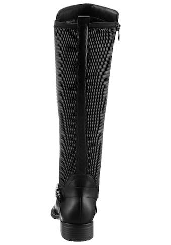 Tamaris Stiefel »Indah«, mit Stretcheinsatz am Schaft kaufen