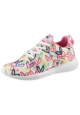 Skechers Sneaker »BOBS SQUAD«, mit Allover-Herzchenprint kaufen