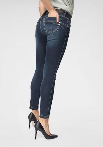Herrlicher Skinny - fit - Jeans »TOUCH CROPPED« kaufen
