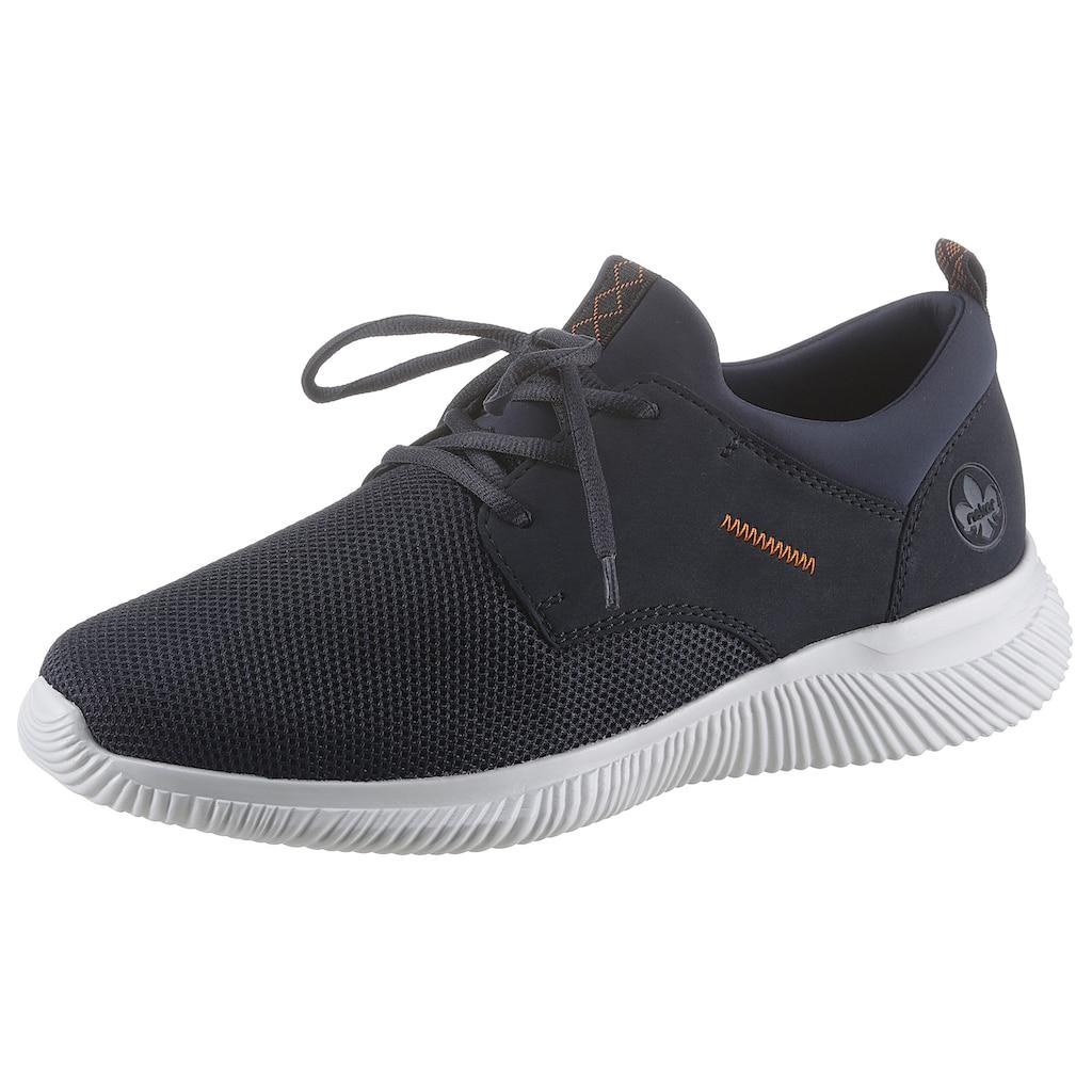 Rieker Slip-On Sneaker, Leichtgewicht mit helle Laufsohle
