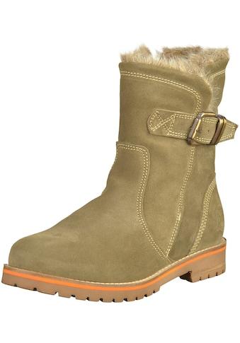 MARCO TOZZI Stiefelette »Nubukleder« kaufen