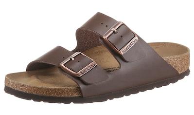 Birkenstock Pantolette »ARIZONA BF«, in Schuhweite schmal, mit ergonomisch geformten Fußbett kaufen