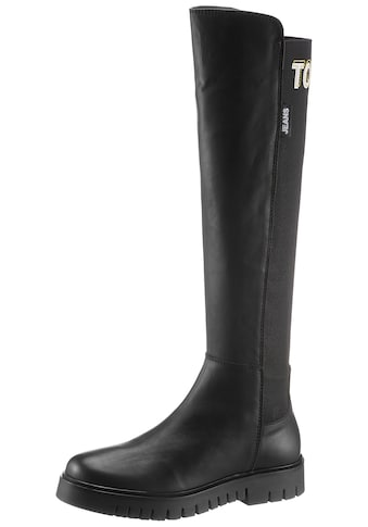 TOMMY JEANS Stiefel »DOUBLE DETAIL LONG BOOT« kaufen