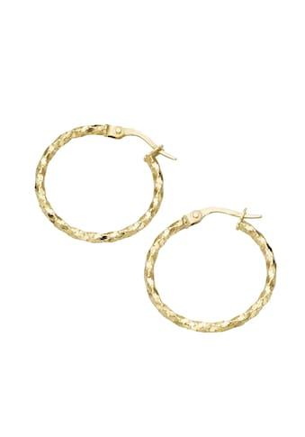 Luigi Merano Paar Creolen »glänzend,Gold 375« kaufen