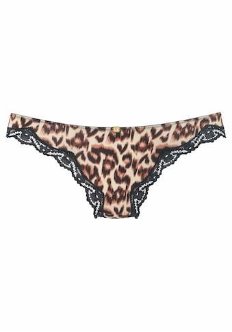 JETTE String, mit Leopardenmuster kaufen