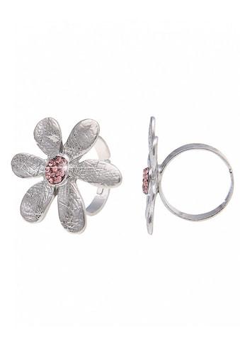 leslii Ring mit Glitzerblüte kaufen