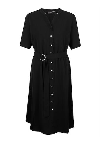 MIAMODA A-Linien-Kleid, mit Bindegürtel kaufen