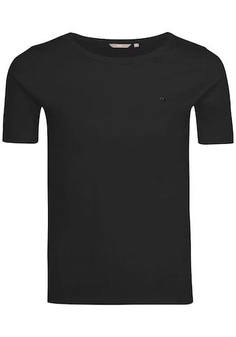 Mexx T-Shirt, Basic mit Logo-Stickerei kaufen