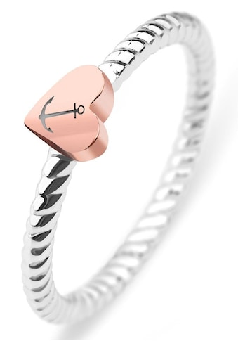 PAUL HEWITT Fingerring »Rope, Herz/Anker, PH-FR-HRO-SR-50,52,54,56,58« kaufen