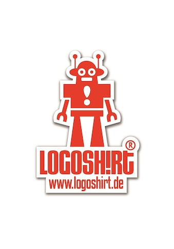 LOGOSHIRT Magnet mit coolem Roboter-Motiv kaufen