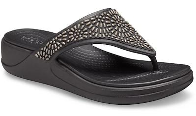 Crocs Zehentrenner »Monterey Diamante« kaufen