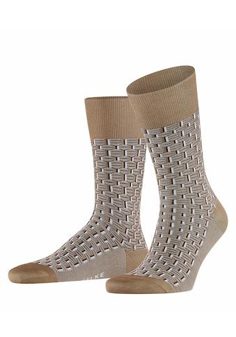 FALKE Socken »Strap Boundary«, (1 Paar), mit hoher Farbbrillianz kaufen