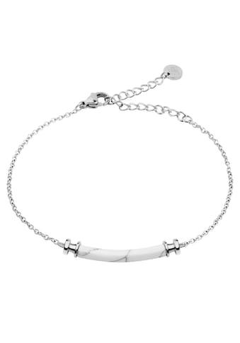 PAUL HEWITT Armband »Armkette Starboard Edelstahl Marble, PH-B-WM-S«, mit Kunstmarmor kaufen