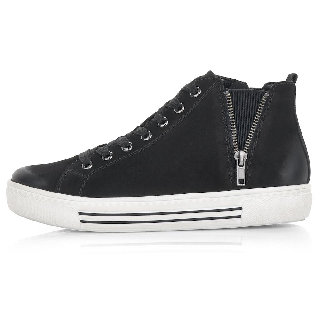 Remonte Sneaker, mit kleinem Zierreißverschluss