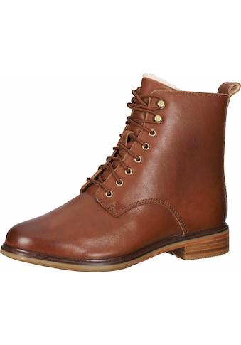 Clarks Schnürstiefelette »Leder« kaufen